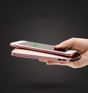 Ultra-thin digital display power bank