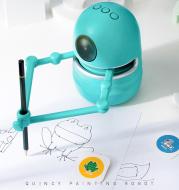 Painting Robot Kindergarten Children Students