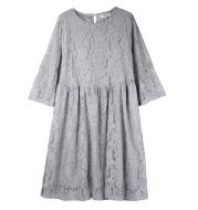 Horn sleeve dress