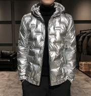 Casual Men's Winter Warm Ultralight Down Jacket Duck Down Coat