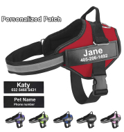 Personalize Dog Harness Dog Name