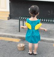 Vest skirt cherub wing
