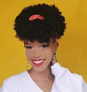 European and American short curly wigs