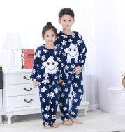 Flannel pajamas for children