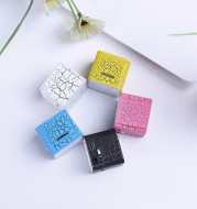 Mini Card Water Cube Colorful Lights External Mp3 Player