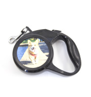 Personalized CustomAutomatic Retractable Dog Leash Puppy Walking Leader Small Dogs Universal Remote Control With Super Flat Belt Pet Rope