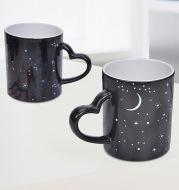 Customized Coffee Cup Creative Color Change Mug Ceramic Cup