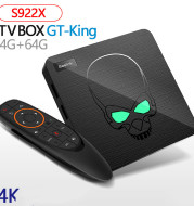 Android 9 TV Set Top Box 4/64G Smart Voice Remote Control