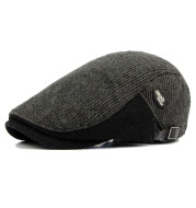 Autumn and winter thick warm beret men's hat