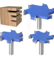 Woodworking Tools With Extended T-slot Cutters, Groove Cutters, T-slot Cutters