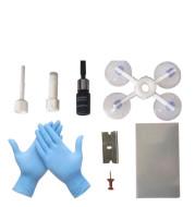 Automotive glass repair fluid