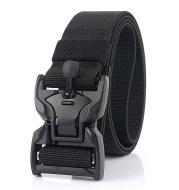 Men's Alloy Magnetic Buckle Tooling Nylon Belt