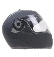 Double lens anti-fog face helmet