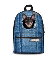Pet Photo Custom Student Backpack