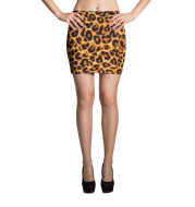Customized Mini Skirt slim fit