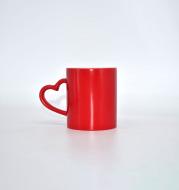 Coffee Cup Creative Color Changing Cup Heart-shaped Cup to Cup to Map DIY Custom Ceramic Cup