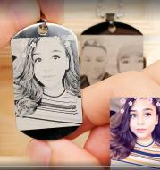 Personalized Picture Necklace Of Titanium Steel