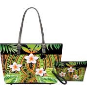Custom Print Fashion Women Shoulder Bags and Handbags 2pcs/Set Waterpoof Adjustable Shoulder Bag Strap PU Leather