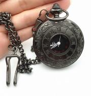 Classic Roman Double Display Pocket Watch