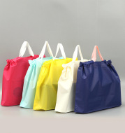 500pcs/lot Creative Design Frosted Drawstring Bag Plastic Bag Clothing Gift Bag