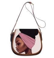 Print Shoulder Bag Ladies Messenger Bag Luxury Designer Female Bag PU Print on Demand