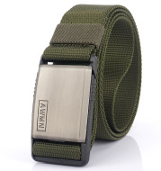 Nylon Belt With Magnetic Buckle Outdoor Leisure Stretch Pants
