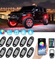 Automobile and Motorcycle APP Control Decorative Lights