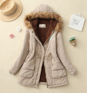 Women's cotton coat