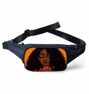 Waist Packs Women Black Art African Girls Waist Bags Customized Fanny Pack for Females Chest Phone Pouch Ladies Belt