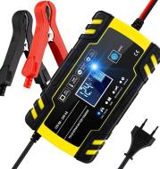 Motorcycle pulse battery charger