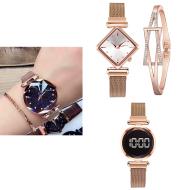 Diamond watch bracelet  Alloy Band Universal Watch tar watch