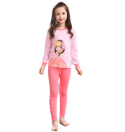 Children's long sleeve girls pajamas