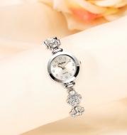 Ladies flower bracelet watch