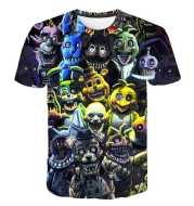 3D Five Nights at Freddy T-shirt