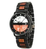 Men's Simple Wooden Custom Watch