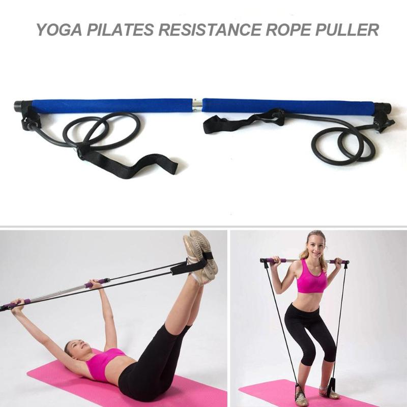 Pilates Fitness Rod Yoga Rally