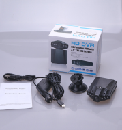Six lights aircraft head driving recorder infrared night vision HD 1080P