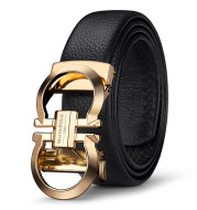 Leather Belt Head For Young And Middle-Aged People