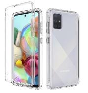 Transparent anti-drop phone case