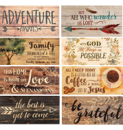 Wooden holiday listing