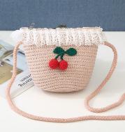 Korean girl cute cherry purse summer