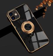 Electroplating Car Magnetic Mobile Phone Case