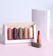 Mini capsule lipstick