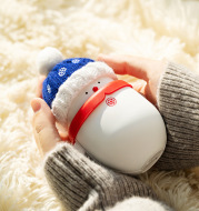 Snowman hand warmer usb power bank
