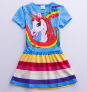 Girls' Short Sleeve Dress