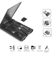 Multifunctional Travel Survival Card All-in-One Data Cable