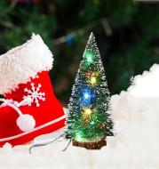 Christmas Decorations LED Lights Mini Christmas Tree