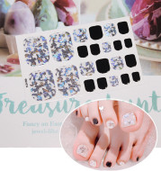 Nail stickers foot stickers 22 small stickers waterproof nail stickers foot nail stickers