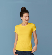 Pure Color Women T-shirt, Custom, Cotton T-shirt