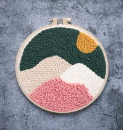 Hand-embroidered DIY Material Package Poke Poke Set